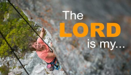 The Lord is my Rock Image